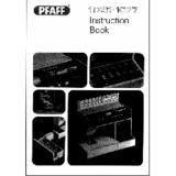 Instruction Manual, Pfaff Tipmatic 1027