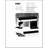 Instruction Manual, Pfaff Tiptronic 1071