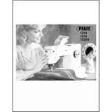 Instruction Manual, Pfaff 1222E
