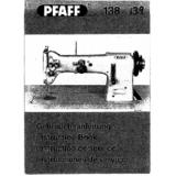 Instruction Manual, Pfaff 139