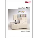 Instruction Manual, Pfaff Coverlock 4852