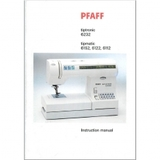 Instruction Manual, Pfaff Tipmatic 6152