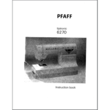 Instruction Manual, Pfaff Tiptronic 6270