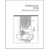 Instruction Manual, Pfaff Hobbylock 776
