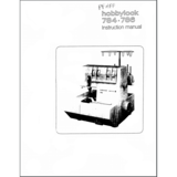 Instruction Manual, Pfaff Hobbylock 784