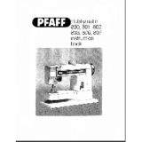 Instruction Manual, Pfaff Hobbymatic 801