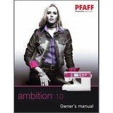 Instruction Manual, Pfaff Ambition 1.0