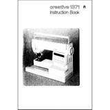 Instruction Manual, Pfaff Creative 1371
