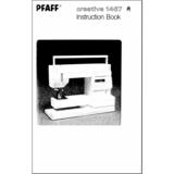 Instruction Manual, Pfaff Creative 1467