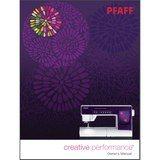 Instruction Manual, Pfaff Creative Performance