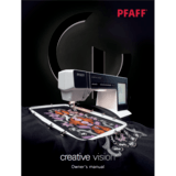 Instruction Manual, Pfaff Creative Vision 5.0