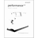 Instruction Manual, Pfaff Performance 2056