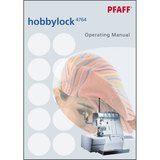 Instruction Manual, Pfaff Hobbylock 4764