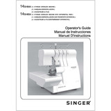 Instruction Manual, Singer 14SH644