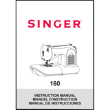 Instruction Manual, Singer 160
