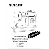 Instruction Manual, Singer CG-550