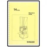 Instruction Manual, Singer 14U53A