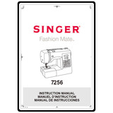 Instruction Manual, Singer 7256