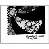 Instruction Manual, Viking 3600