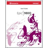 Instruction Manual, Viking Epic 980Q