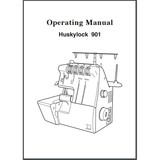 Instruction Manual, Viking Huskylock 901