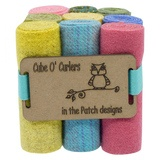In the Patch Designs, Cube O' Curlers Wool Fabric Rolls
