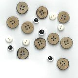 Button Pack for Monthly Table Topper Pattern May Catting Around