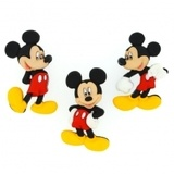 Disney, Mickey or Minnie Buttons & Embellishments