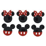Disney, Mikey or Minnie Buttons & Embellishments - Mickey & Minnie Glitter