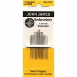 John James Embroidery Needles - Assorted