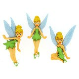 Disney Movie Buttons & Embellishments - Tinkerbell