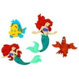 Disney Movie Buttons & Embellishments - Little Mermaid