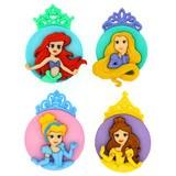 Disney Movie Buttons & Embellishments - Princess Assortment