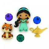Disney Movie Buttons & Embellishments - Aladdin