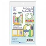 Quilt as You Go Baby Bibs Pattern (3pk)