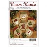 Warm Hands Mittens Ornament Kit - Makes 6 Ornaments