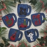 Merry Mugs Ornament Kit - Makes 6 Ornaments