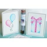 Kimberbell, Watercolor Cards and Envelopes (8pk)