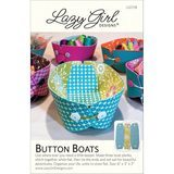 Button Boats Pattern, Lazy Girl Designs