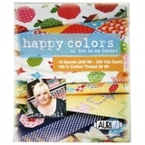 Aurifil, 10 Spool, Happy Colors Thread Collection - 220yds (50wt)