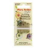 Mary Arden Between/Quilting Hand Needles (20pk)