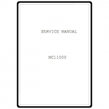 Service Manual, Janome MC11000