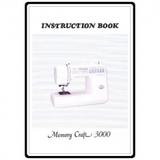 Instruction Manual, Janome MC3000