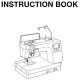 Instruction Manual, Janome MC6300P