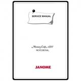 Service Manual, Janome MC6500