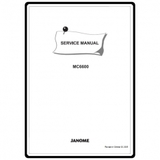 Service Manual, Janome MC6600