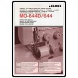 Instruction Manual, Juki MO-644D