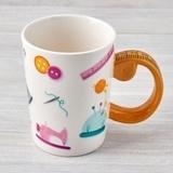 Tape Measure Sewing Mug