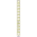 Ruler 1in x 12in, Omnigrid