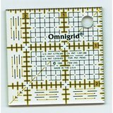 "2.5"" Square Ruler w/ grid, Omnigrid"
